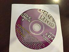 PARTY TYME KARAOKE SYB-1646 LOVE SONGS VOL 4 CD+G 8+8