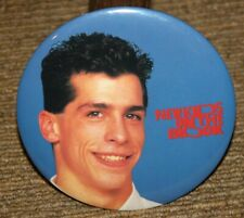 "New Kids On The Block Vintage 6"" Button ""Danny"" Blue Background Nos"