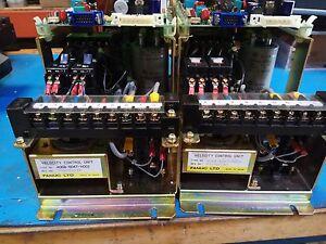 Fanuc Velocity Control A06B-6047-H002 w/A20B-009-0320/14E board, DC analog drive