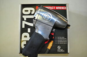"""CHICAGO PNEUMATIC CP 719 1/4"""" DRIVE AIR IMPACT WRENCH MADE IN JAPAN BARND NEW !!"""