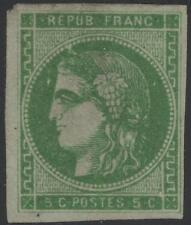 "FRANCE STAMP TIMBRE N° 42 Bh "" CERES BORDEAUX 5c VERT "" NEUF (x) A VOIR  K303"
