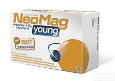 NeoMag Young 30 tabs Magnesium & Vit B6 Lecithin - Magnez & Witamina B6 Lecytyna