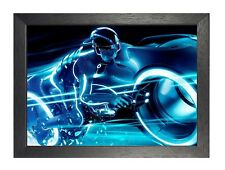 Tron Bike Legacy American Science Fiction Action Film Poster Ride Blue Picture