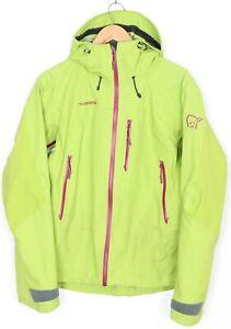 NORRONA TROLLVEGGEN DRI3 Birch Green Hooded Jacket Women Size M MJ2619