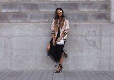 Zara Negro Calado Envolvente Sandalias BNWT SIZE UK 6 EU 39