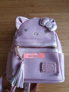 Loungefly Sanrio Hello Kitty Metallic Pink Mini Backpack