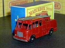 Matchbox Lesney Merryweather Fire Engine 9 c3 17 gold 24BPW SC8 VNM crafted box