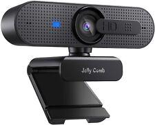 Jelly Comb 1080P HD Webcam mit Objektivdeckel, Streaming Mit Objektivdeckel