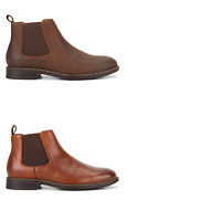 Mens Hush Puppies Hanger Pull On Boots Casual Work Dress Comfortable Shoes