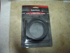 RADIOSHACK 6 FT RG-G/U 75 OHM COAX CABLE BNIP 1500018