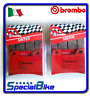 DUCATI STREETFIGHTER 848 2012 > 2015 BREMBO SA SINTERED BRAKE PADS 2 SETS