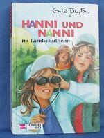 Hanni und Nanni im Landschulheim- Enid Blyton,neuwertig