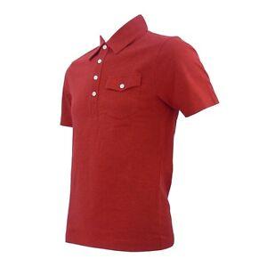 Original Penguin Pompeian Red Jack Polo Shirt Size - Medium BNWT