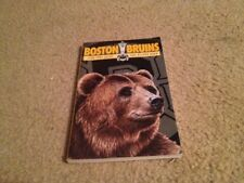 VINTAGE OFFICIAL 1990-91 BOSTON BRUINS GUIDE AND RECORD BOOK