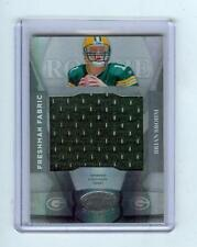 2008 LEAF CERTIFIED BRIAN BROHM JERSEY RC #/599 PACKERS