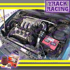93 94 95 96 97 FORD PROBE GT MAZDA MX6 626 2.5L V6 COLD AIR INTAKE+K&N Black Red