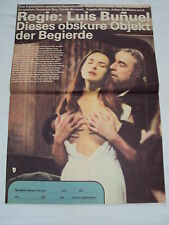 K3 w/2/14 DDR Movie Poster that Obscure Object Of Desire F. Rey Caro. Bouquet