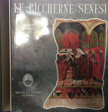 (Toscana) LE BICCHERNE SENESI  di U. Morandi - Monte dei Paschi di Siena 1964