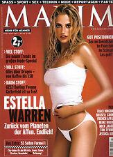 MAXIM März/03/2002  ESTELLA WARREN & YVONNE CATTERFELD & TRACI BINGHAM