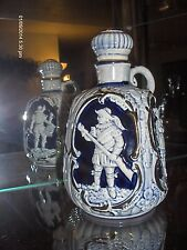 Musical Decanter Blue trimmed in Gold