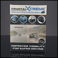 CrystalXtreme Windscreen and Visor Protection for Cars and Motorcycles