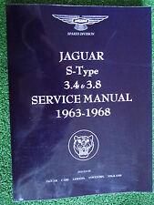 Jaguar S-Type 3.4 & 3.8 Factory Workshop Service & Repair Manual 1963-1968