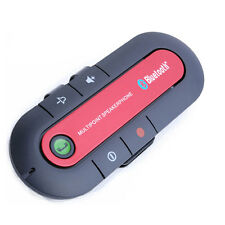 Wireless Bluetooth Hands Free Speaker Phone Charger Car Kit For Mobile Phone