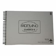 A3 Fabriano classico 5 Hot Press 300gsm 25 Sheets Watercolour fat Pad