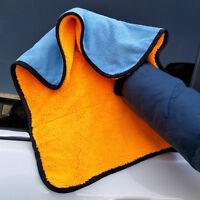 45*38CM Microfibre Cleaning Auto Car Detailing Soft Cloths Wash Towel Duster New