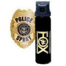 Fox Labs Pepper Spray - 3 oz Cone (Flip Top)