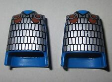 13229 Cuerpo azul armadura plata 2u playmobil,body,romano,roman