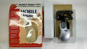 Vintage New Media Mobile Mouse USB First Miniature Mouse