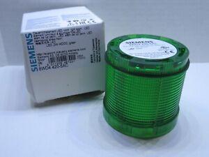 (NEW) SIEMENS 8WD4 420-5AC 8WD44205AC 24V ac/dc Green Stack Light