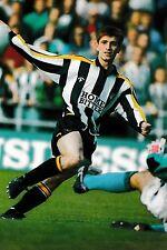 Football photo > Tommy Johnson Notts County 1991-92