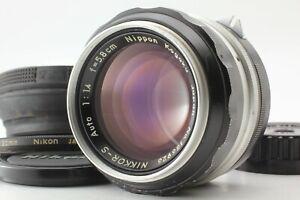 NIKON NIKKOR-S 58mm F/1.4 NONAI NIPPON KOGAKU PAT. PEND. w/ RUBBER HOOD MF LENS