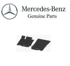NEW Mercedes-Benz R230 SL-Class Carpeted Velours Black Floor Mat Set Genuine