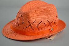 Diesel Craic Bonnet Chapeau de Paille Trilby fedora en feutre d'Eté plage 03