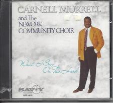 CARNELL MURRELL & NEWORK COMM  Wait I Say On The Lord New Sealed Savoy Gospel CD