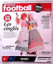 FRANCE FOOTBALL du 18/02/2014; Top 50 des joueurs les plus fou du stade/ Gourcuf