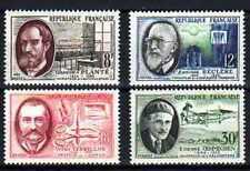 France 1957 Savants et inventeurs Yvert n° 1095 à 1098 neuf ** MNH