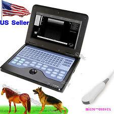 USA Vet Portable Ultrasound Scanner veterInary use notebook animal,micro-convex