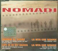 Nomadi - Sangue Al Cuore 3 Tracks + Video Cd Eccellente