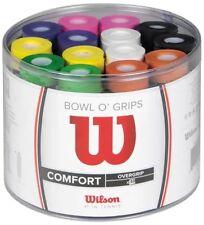 """WILSON PRO overgrip CIOTOLA o """"GRIP confezione da 50-Comfort-Colori Misti-Rrp £ 100"""