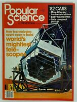 Popular Science Magazine October 1981 Vol 219 No 4 1982 Cars Telescopes