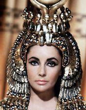 ELIZABETH TAYLOR 8x10 PHOTO Cleopatra film photograph