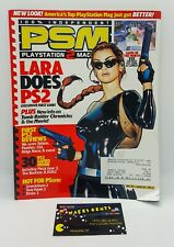 Vintage PSM Playstation Magazine Video Games Consoles Issue 39 2000 Croft Cover