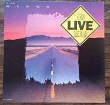 The Kinks Live The Road Live original album flat RARE
