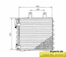Klimakühler Kühler Klimaanlage Klimakondensator BMW 3 (E30) 316