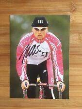 Jan ullrich autógrafo telekom adidas ciclismo original firmado!