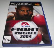 EA Sports Fight Night 2004 PS2 PAL *No Manual*